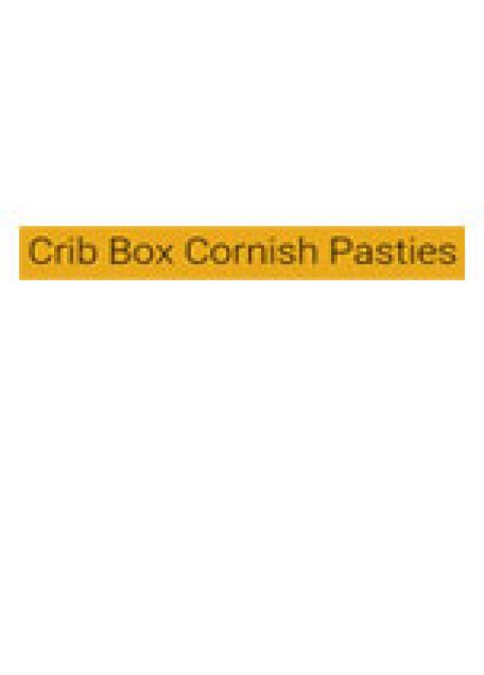 Crib Box Cornish Pasties